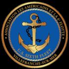 US 6th fleet – Villefranche Logo