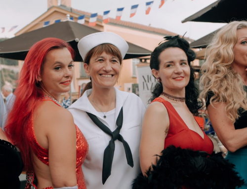 4 July 2019 at Villefranche-sur-Mer: the movie
